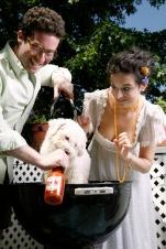 Jenny Slate and Gabe Leidman