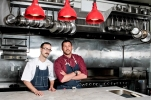 Chef Frederick Schoen-Kiewert (L); Chef Joe Isidori (R)
